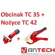 Nożyce do rur ROCUT TC 42 + Obcinak TC 35
