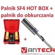"""Palnik SUPER FIRE 4 7/16"""" zestaw HOT BOX + końcówka do obkurczania"""