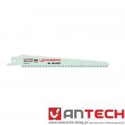 Brzeszczoty HSS - uniwersalne - 150 x 20 x 1,25 - 6 zębów na cal - 5 sztuk