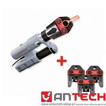 Zaciskarka elektrohydrauliczna ROMAX AC ECO  + trzy szczęki!