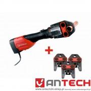 Zaciskarka elektrohydrauliczna ROMAX 3000 AC + trzy szczęki!