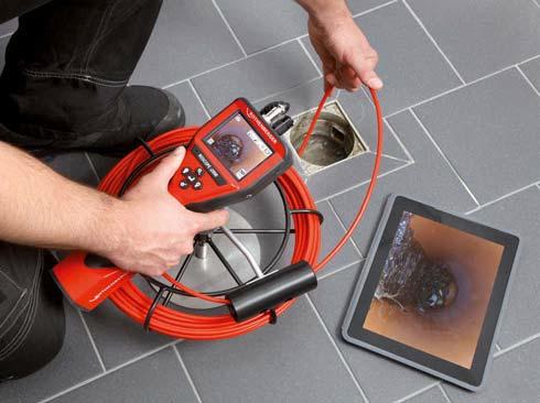 Kamera Roscope i2000 inspekcja rothenberger rems ridgid seesnake